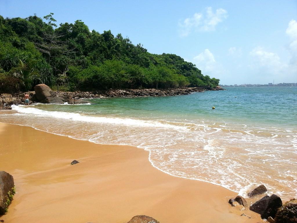 Strand bei unawatuna, Sri Lanka Galle