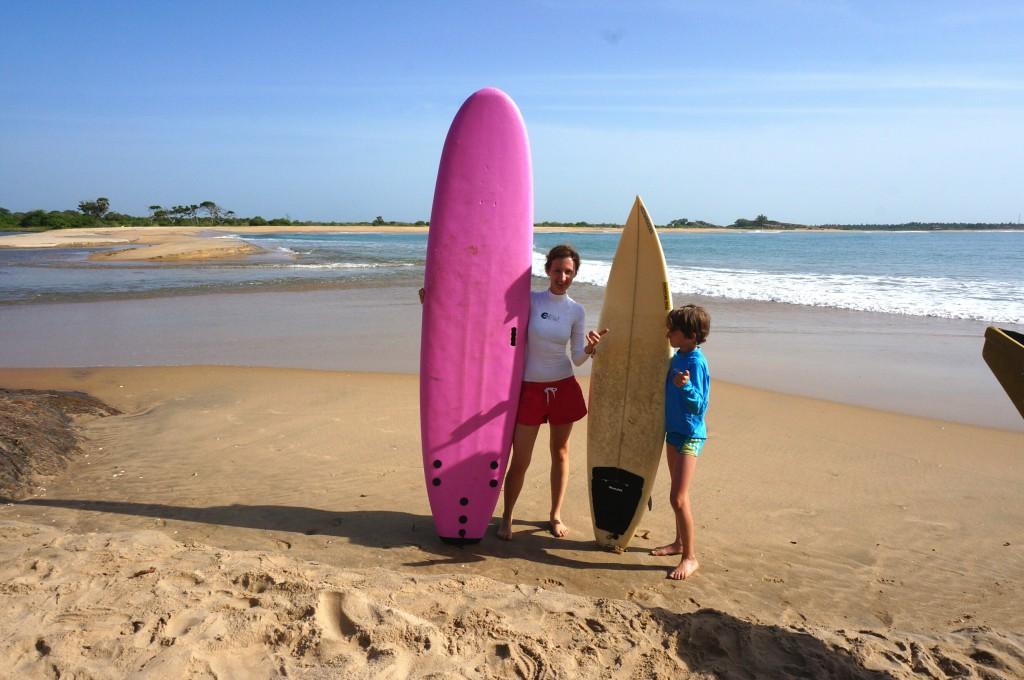 Surfen Arugam Bay Sri Lanka