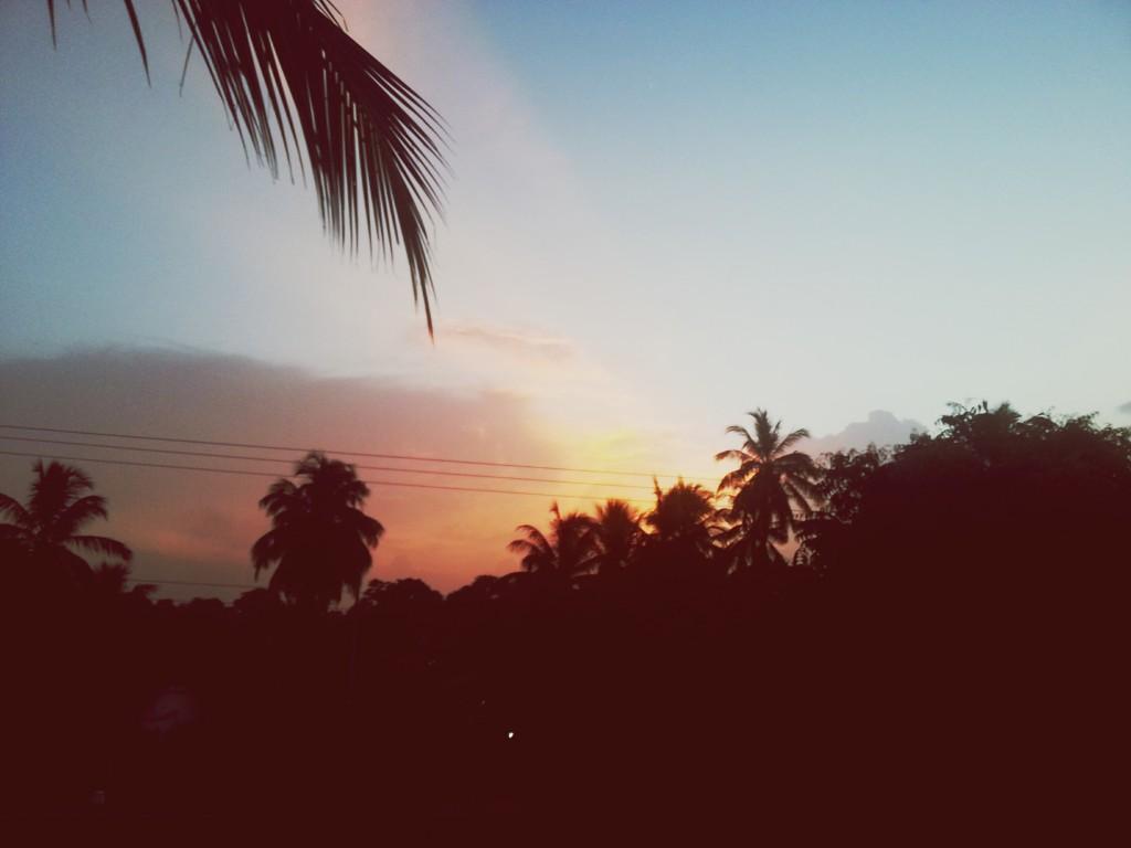 Sonnenuntergang Arugam Bay Sri Lanka