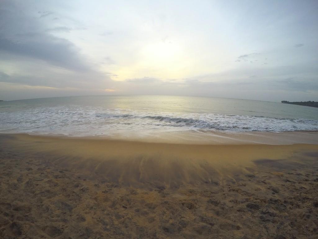 Arum Bay Sonnenaufgang am Strand