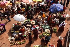 Markt in Kumasi, Reisebericht Ghana Urlaub Reise