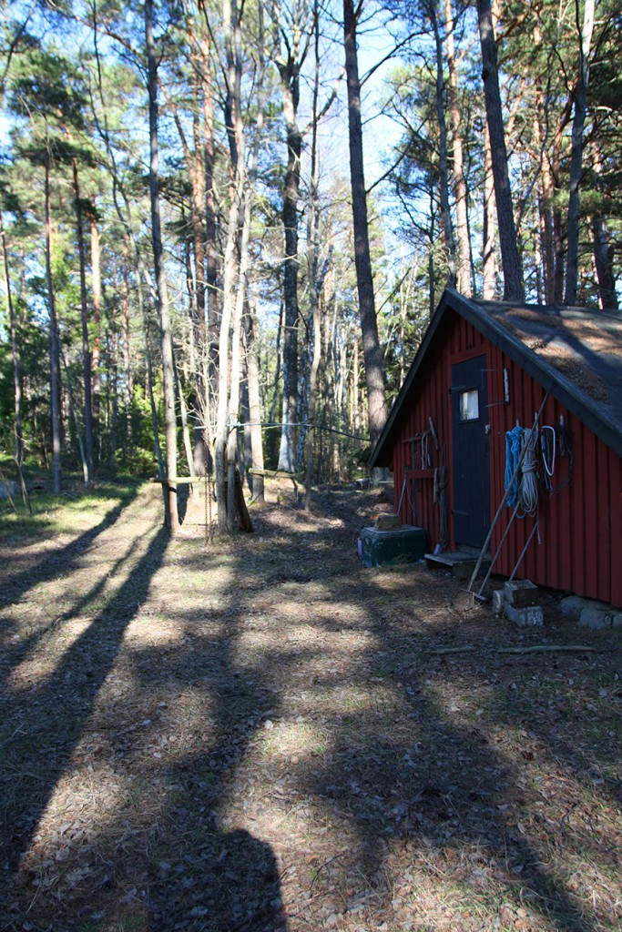 Utö Ferienhaus im Wald