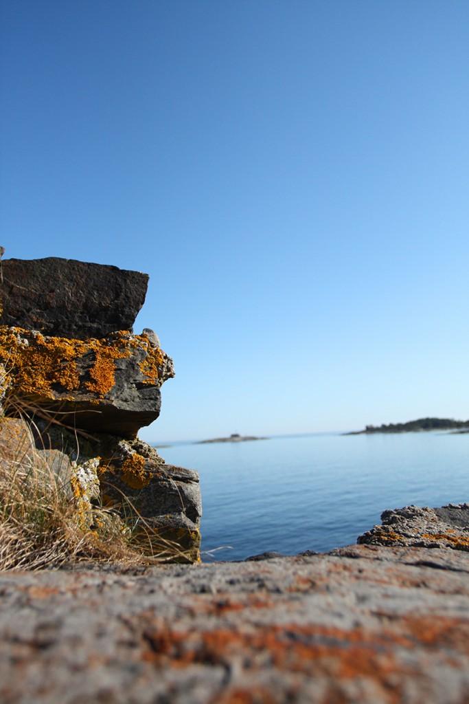 Utö Meer Strand Schweden