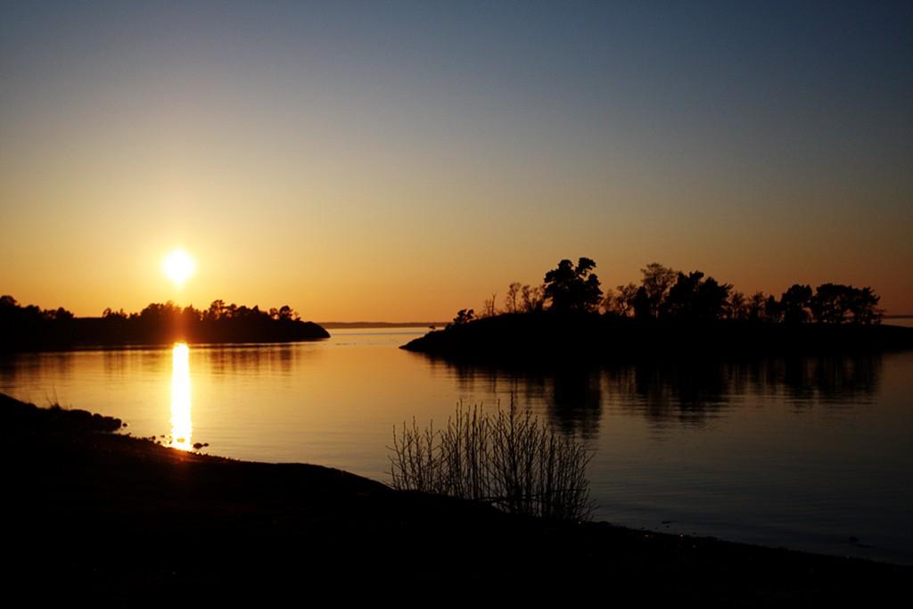 Mitternachtssonne Schweden Üto