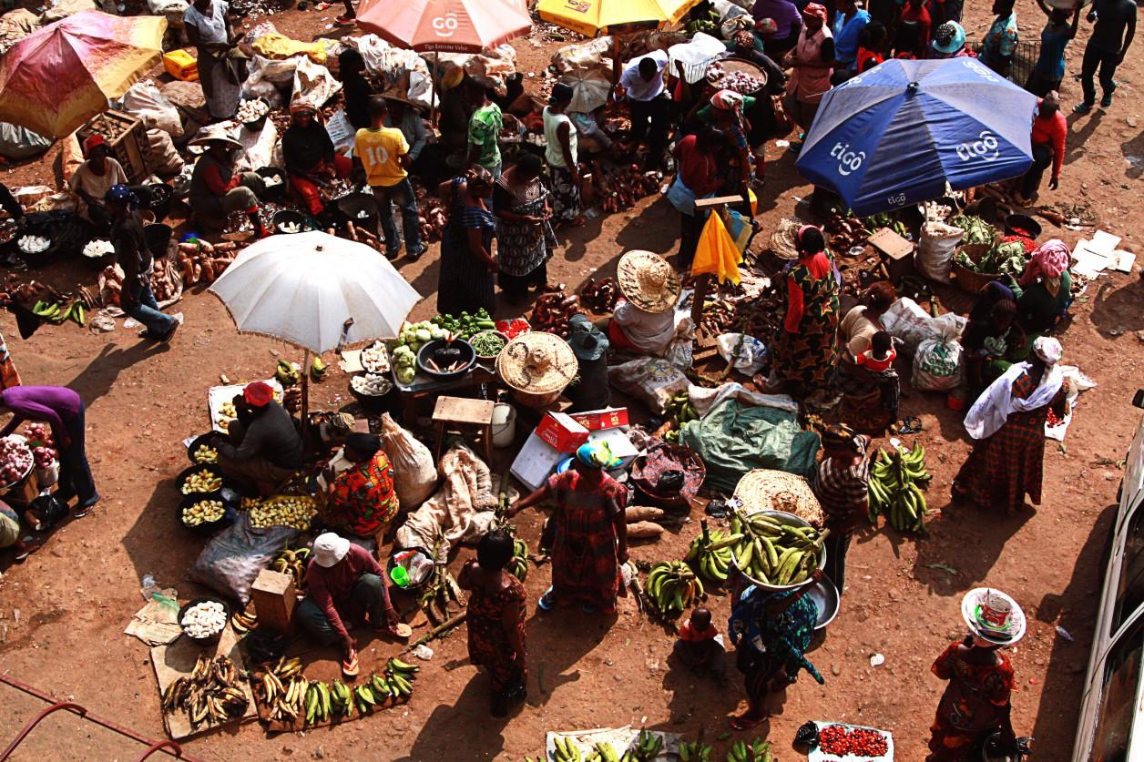 Markt in Kumasi, Reisebericht Ghana Urlaub Reise, Urlaub in Ghana, Rundreise Ghana, Backpacking Ghana