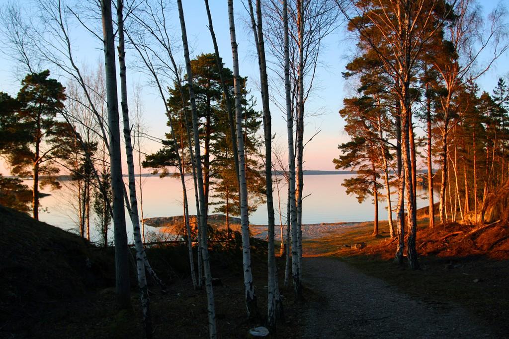 Utö Schweden Sonnenuntergang