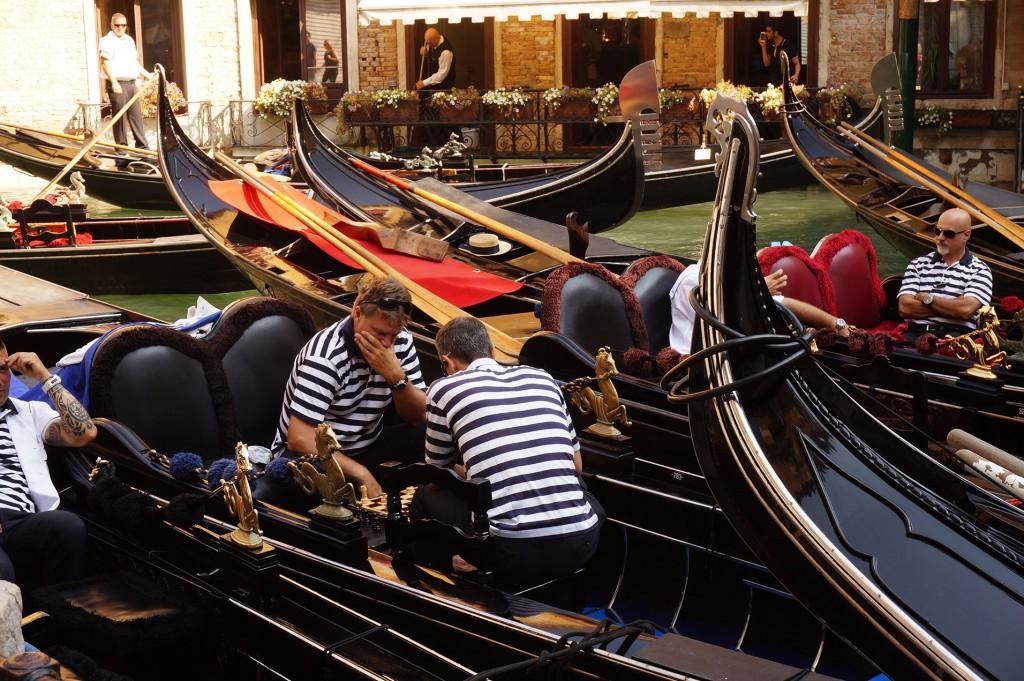 Venedig mit Kindern, Gondel fahren in Venedig