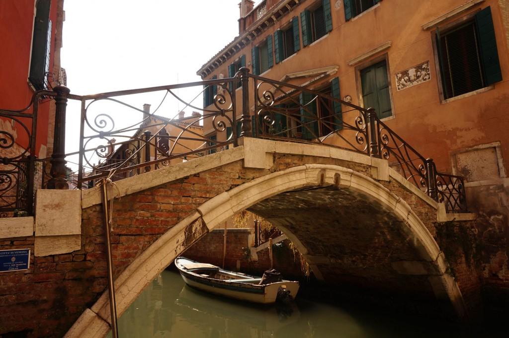 Kurzurlaub verlängertes Wochenende Venedig mit Kindern, Brücke in Venedig