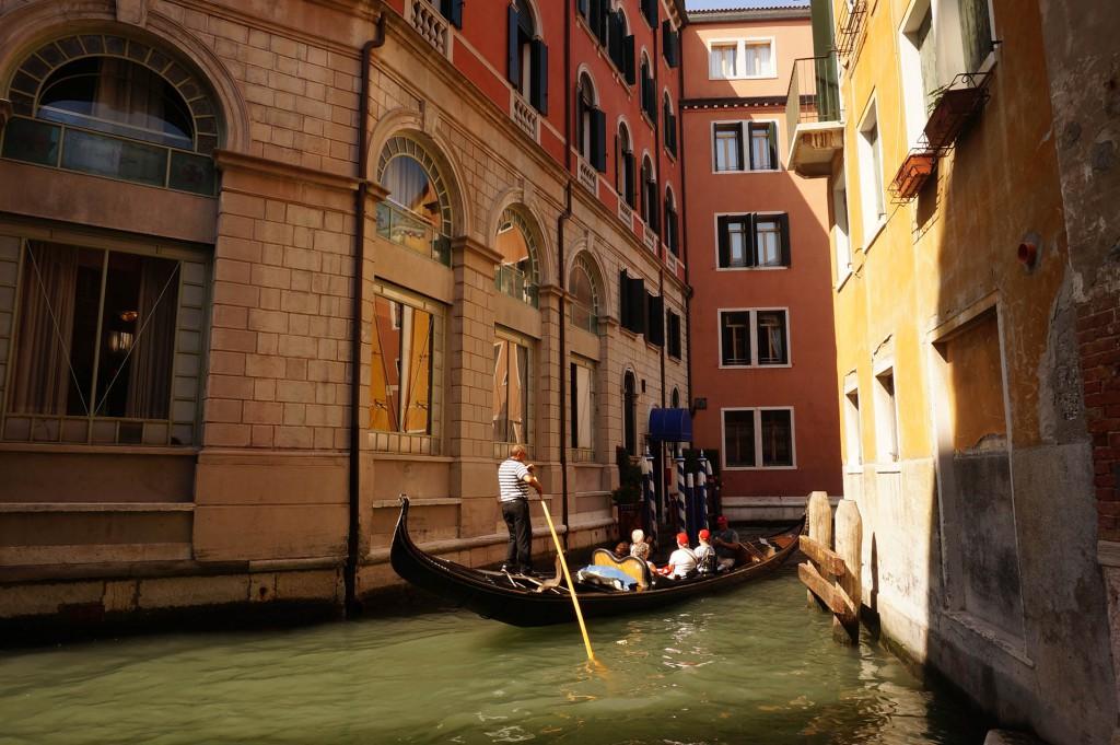 Kurzurlaub verlängertes Wochenende Venedig mit Kindern, Gondel