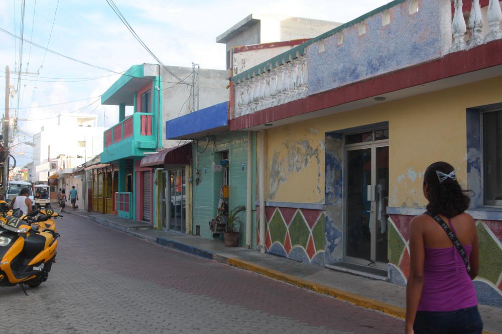 Mexiko Rundreise Yucatan mit Kindern Urlaub Mexikanische Stadt Isla Mujere