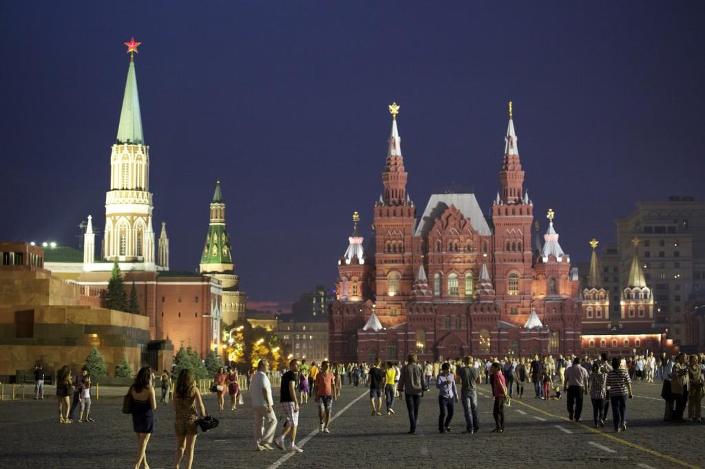 Der rote Platz Moskau