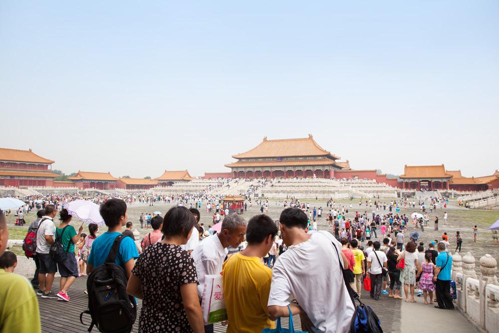 Die verbotene Stadt, Peking, Beijing, Reisetipps Reisebericht China mit Kind Rundreise