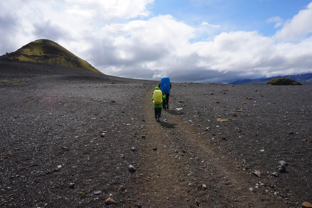 Reisen mit Kindern, Insland Wandern mit Kindern