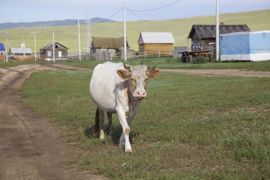 Baikalsee Russland mit Kind