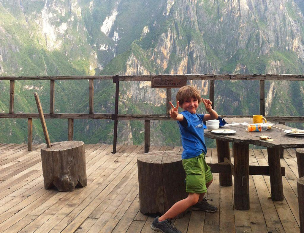 Tiger-Leaping-George, Reisetipps Reisebericht China mit Kind Rundreise