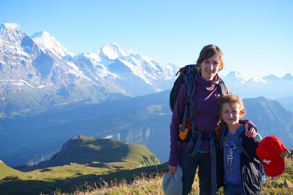 Reisen mit Kindern, Wandern mit Kindern