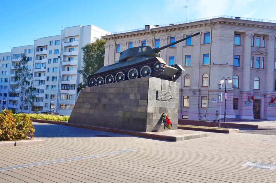 Reise nach Minsk, Sehenswürdigkeiten Minsk