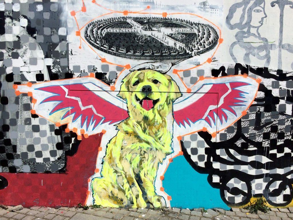 graffiti Kopenhagen Kurzurlaub mit Kindern Kopenhagen