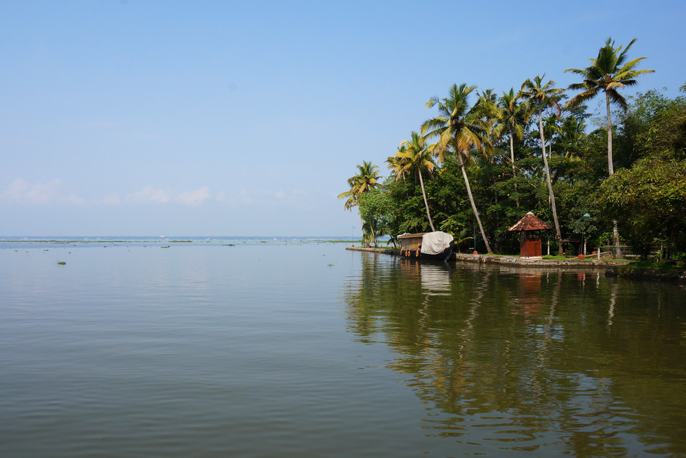 Backwaters in Kerala Hausboot Tour Hausboottour Indien Südindien
