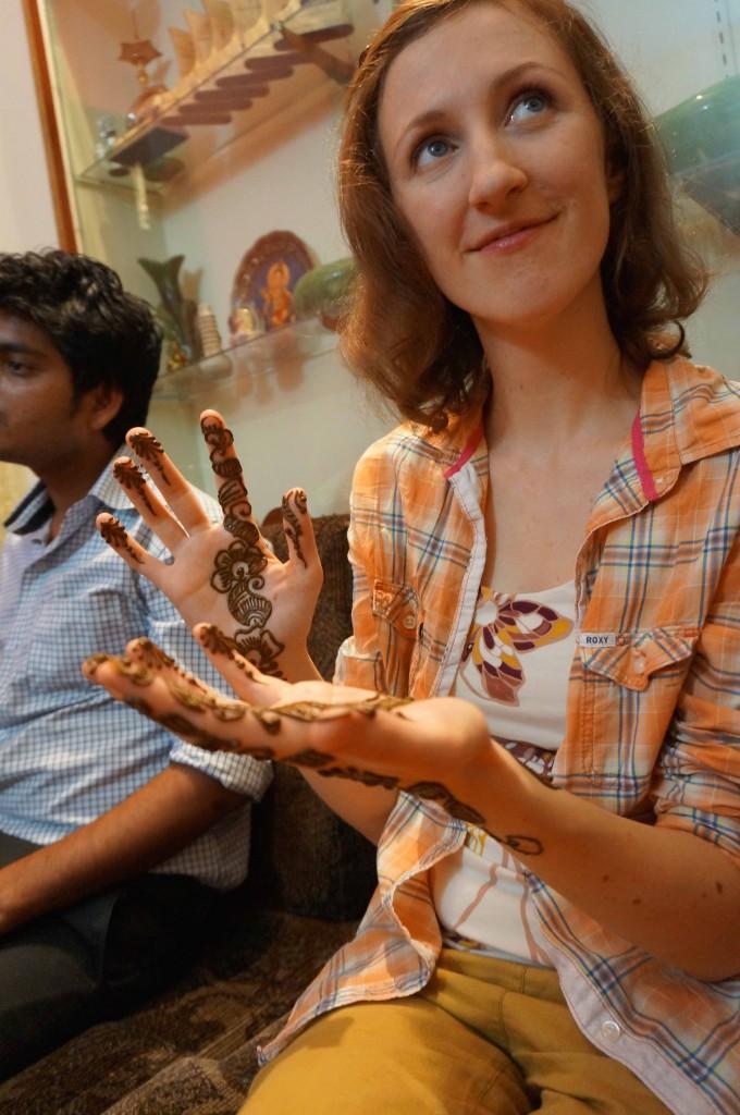 Henna, Indische Hochzeit, Indische Hochzeit, Backpacking, Urlaub in Indien, Bangalore