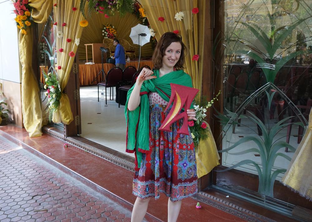 indische Hochzeit in Indien Henna Verzierungen Hände Füße, Kleidung und Geschenk indische Hochzeit, Ablauf