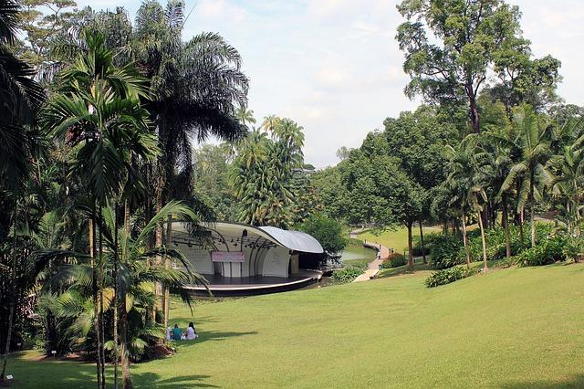 Singapur mit Kindern, Botanischer Garten