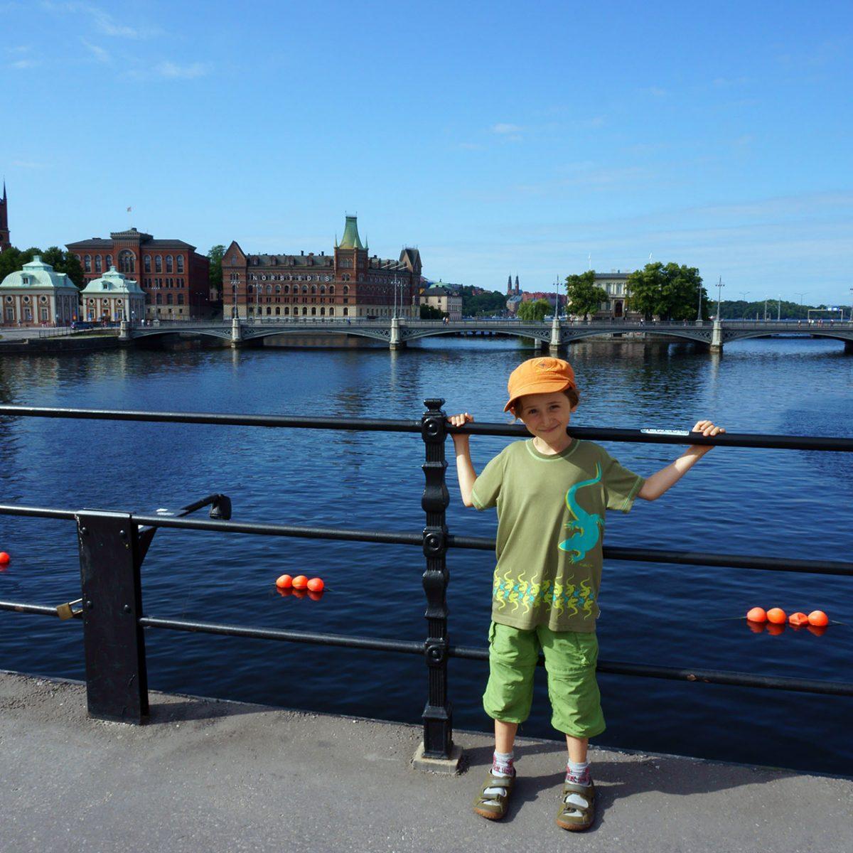 Stockholm mit Kindern im Sommer Aktivitäten
