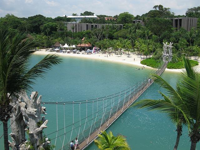 Singapur mit Kindern, Sentosa Insel