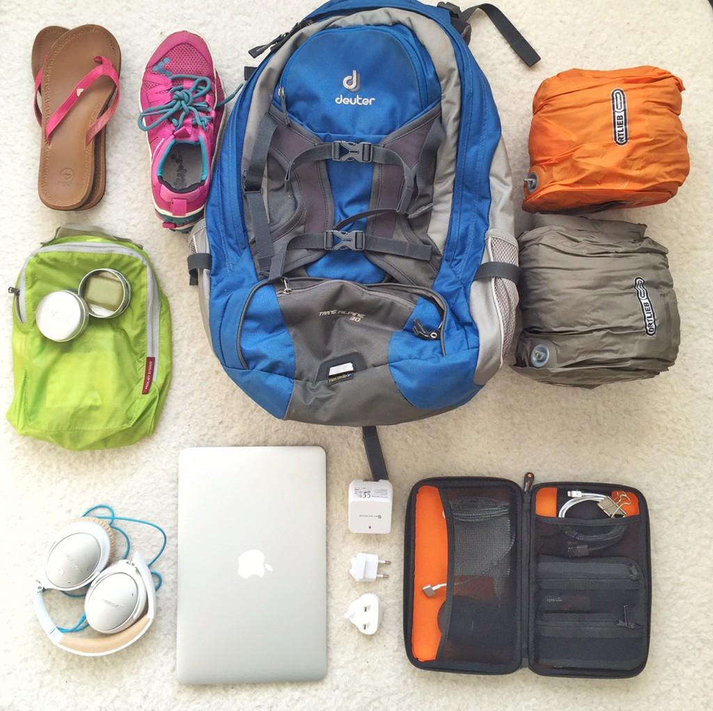 Reisen mit Handgepaeck