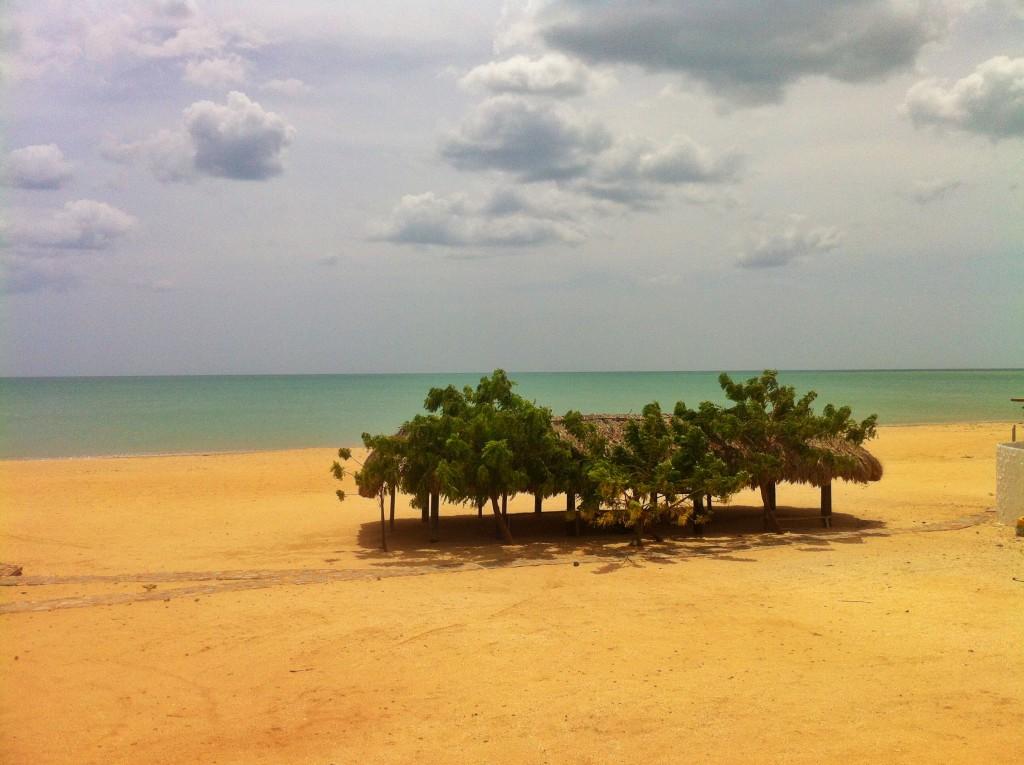 Wüste in Kolumbien Halbinsel Guajira