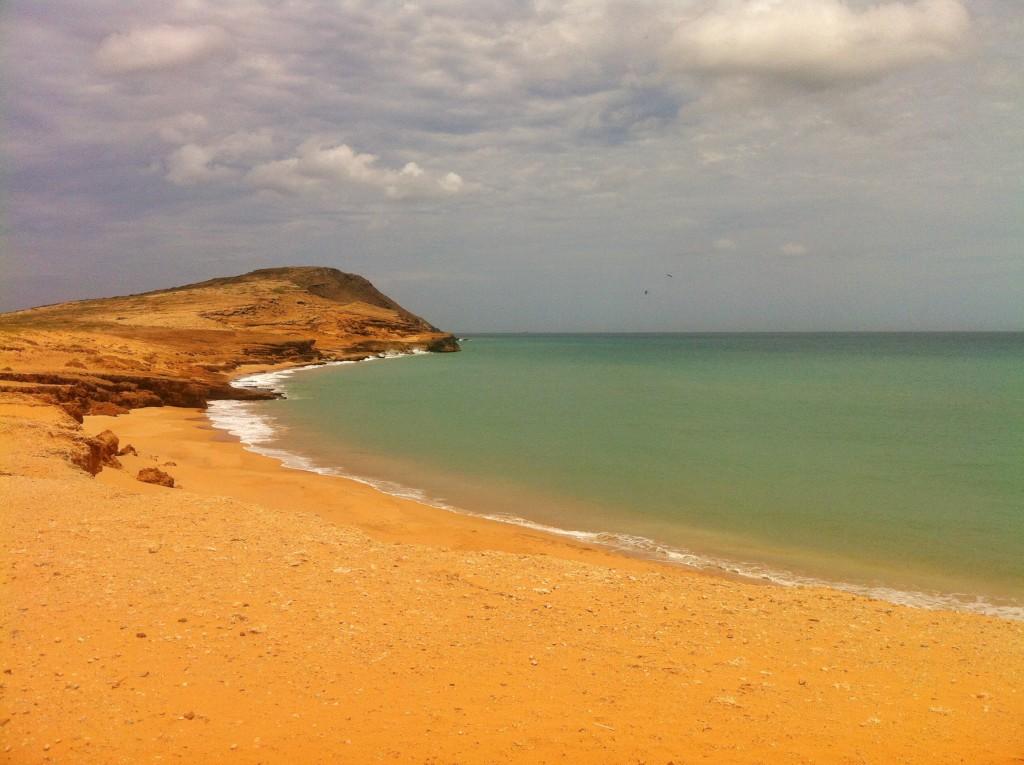 Strand Wüste in Kolumbien Halbinsel Guajira