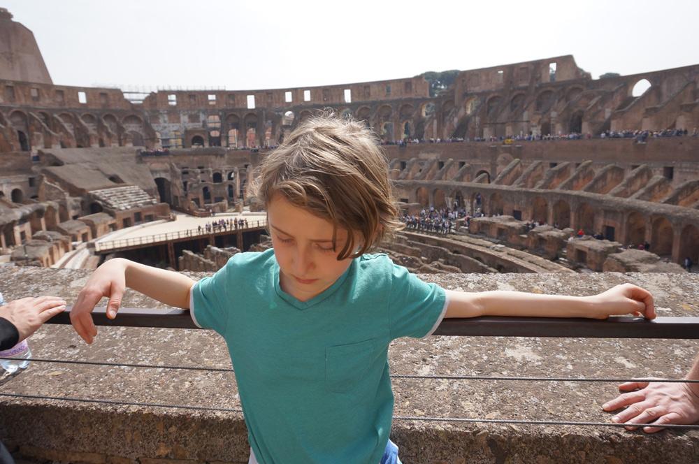 Rom mit Kindern, Reisen bildet