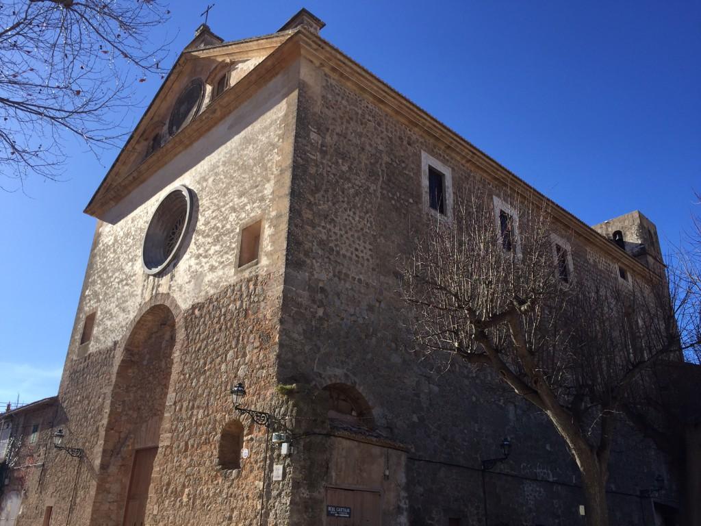 Kloster in Valldemossa. Mallorca Wandern, Mallorca mit Kindern