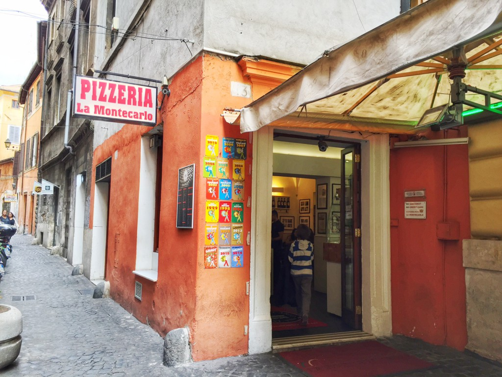 Rom mit Kind Essen in Rom, unser Lieblingsrestaurant