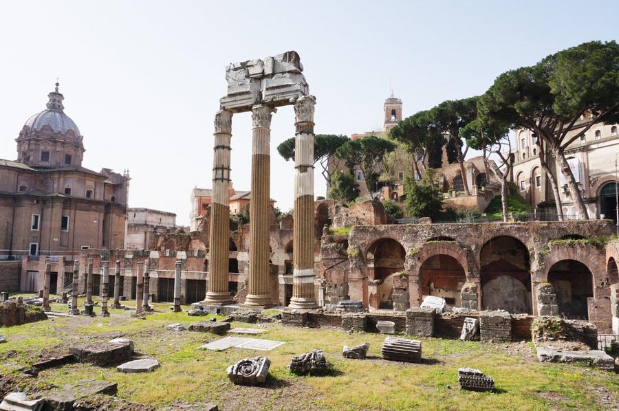 Rom mit Kindern Forum Romanum, Rom mit Kindern