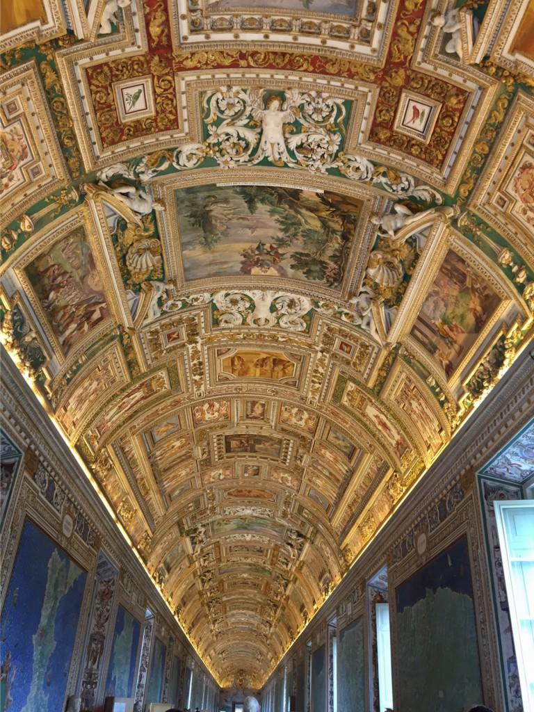 Rom mit Kind Vatikan Museum