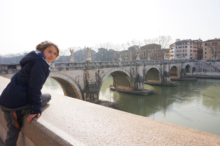 Engelsbrücke Rom, Rom mit Kindern