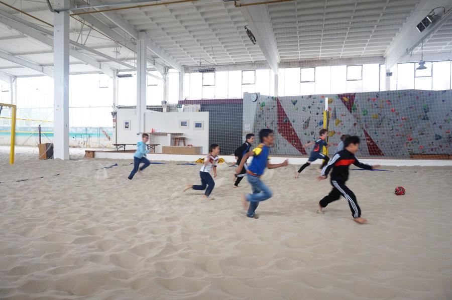 Düsseldorf mit Kindern Ausflugstipps in Düsseldorf Beachvolleyball