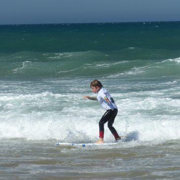 Portugal mit Kind: Mein erstes Mal Surfen und Yoga