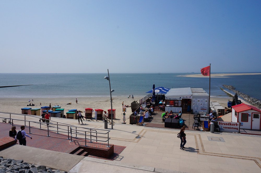 Strandpromenade Seehundbänke,  Nordsee Urlaub mit Kindern günstig