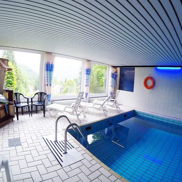 Schwimmbad im Haus Diefenbach