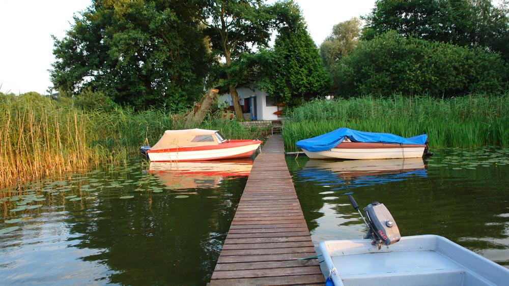 Ferienhaus am See Kurzurlaub in Deutschland mit Kindern, Mecklenburgische Seenplatte