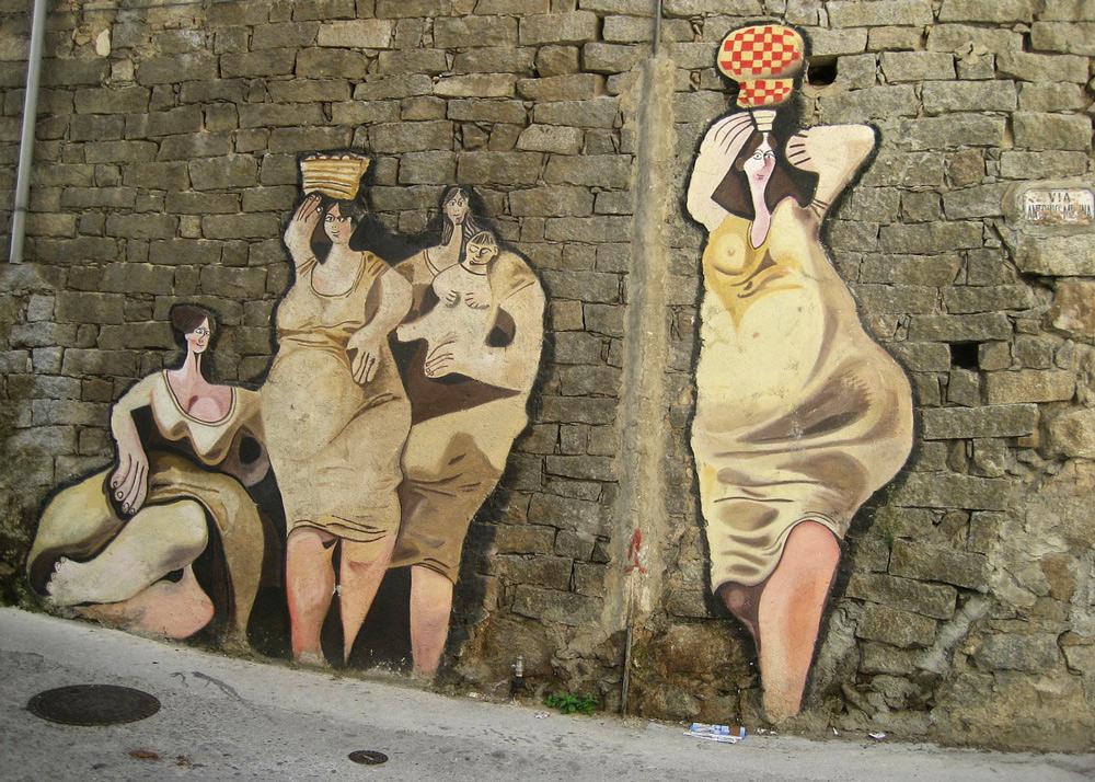 street art Sardinien, Sardinien mit Kindern, Sardinien wandern