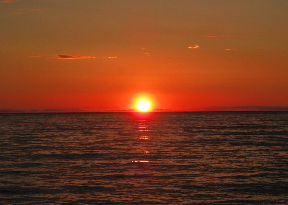 Sonnenuntergang Sardinien mit Kindern, Sardinien wandern