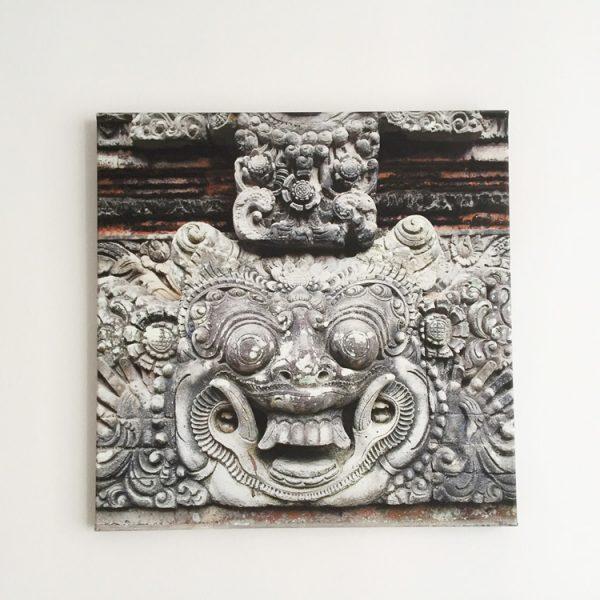 Urlaubserinnerungen festhalten Bild auf Leinwand drucken Tempel in Bali Ubud Reiseblog