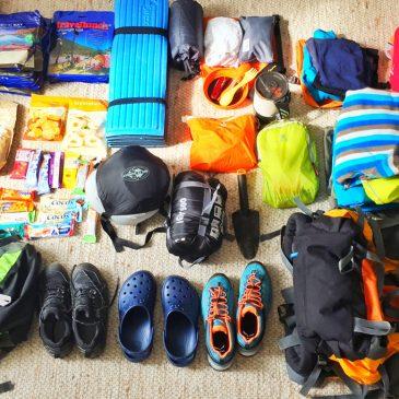 Ultraleicht Packliste für deine nächste Wanderung mit Kind