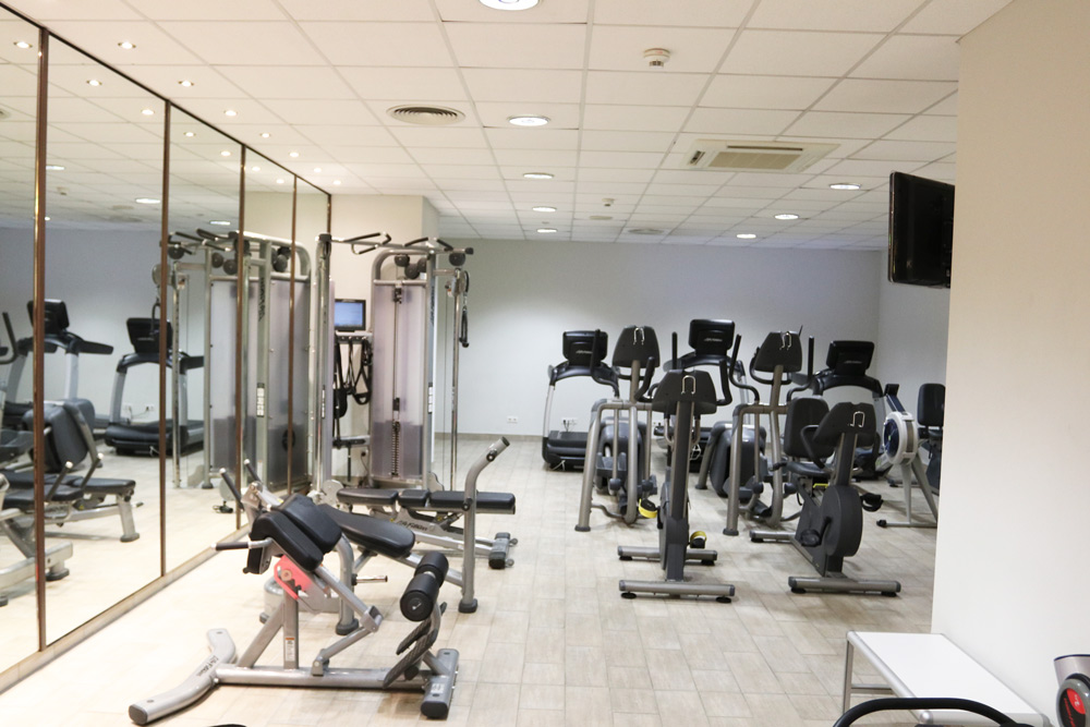 Hotel Berlin Kudamm Crowne Plaza City Center Fitnessbereich