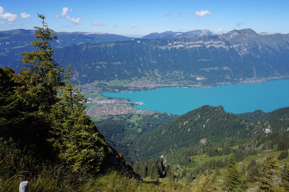 Hüttenwanderung Schweiz Interlaken von oben, Wandern mit Kind im Berner Oberland, Schynige Platte Faulholm Grindelwald Kleine Scheidegg Schweizer Alpen Wandern mit Kind