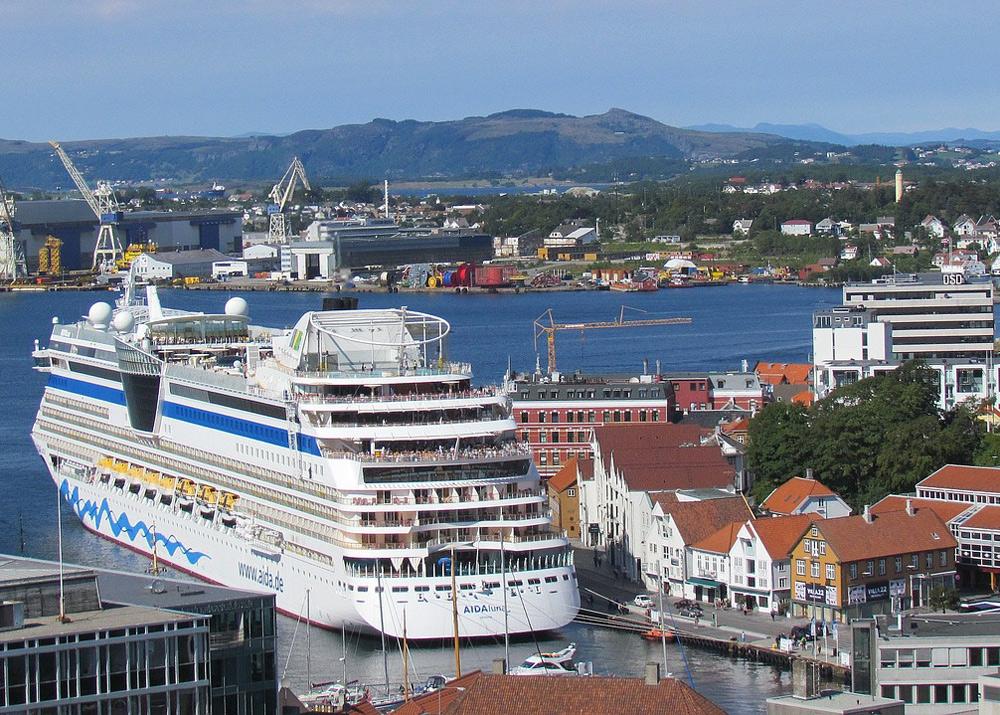 Kreuzfahrtschiff-Stavanger