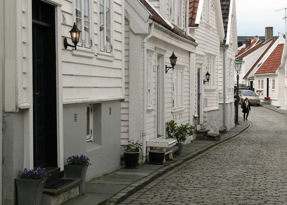 Stavanger-Altstadt